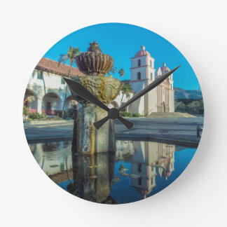 Mission Santa Barbara Round Clock