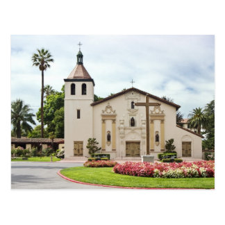 Mission Santa Clara de Asis Postcard