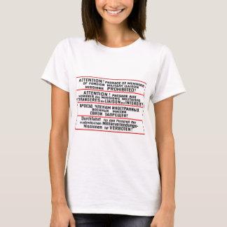 Mission Sign Memorabilia T-Shirt