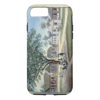 Missionary Buildings, St. Johns, Antigua (w/c and iPhone 7 Case