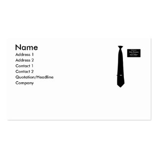 Missionary Romney Costume Pack Of Standard Business Cards