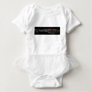 Mississauga, Ontario At Night Baby Bodysuit