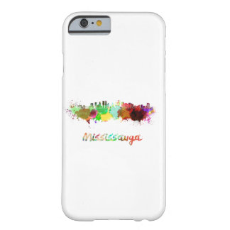 Mississauga skyline in watercolor barely there iPhone 6 case