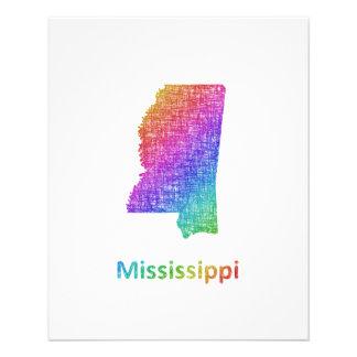 Mississippi 11.5 Cm X 14 Cm Flyer
