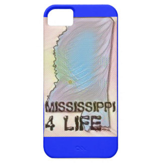 """Mississippi 4 Life"" State Map Pride Design iPhone 5 Case"