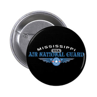Mississippi Air National Guard Pinback Button