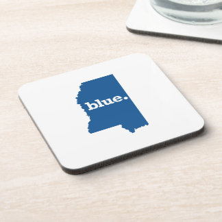 MISSISSIPPI BLUE STATE BEVERAGE COASTERS