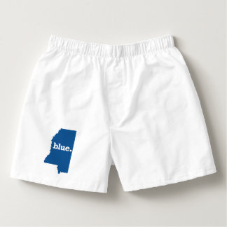 MISSISSIPPI BLUE STATE BOXERS