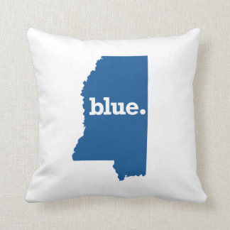 MISSISSIPPI BLUE STATE THROW CUSHION
