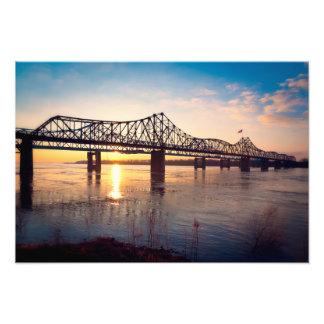 Mississippi Bridge at Vicksburg Art Photo