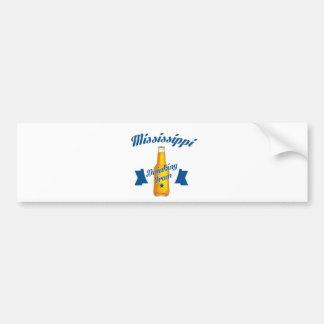 Mississippi Drinking team Bumper Sticker