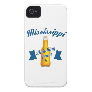 Mississippi Drinking team iPhone 4 Case