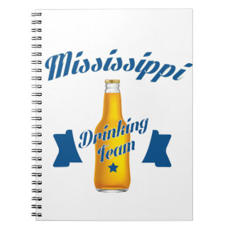 Mississippi Drinking team Notebooks