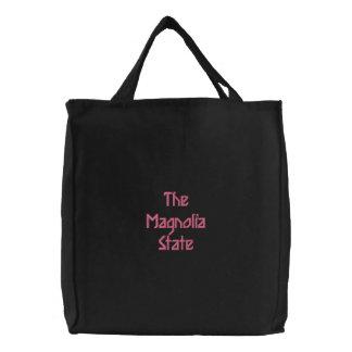 Mississippi Embroidered Bag