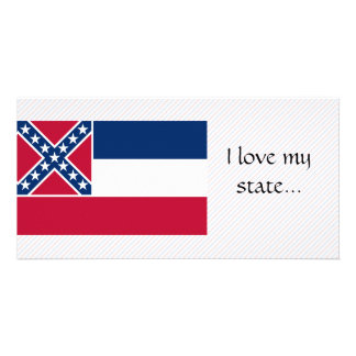 Mississippi Flag Photo Card Template