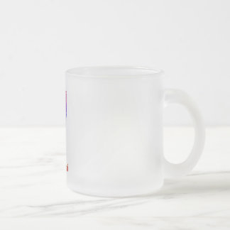 Mississippi Frosted Glass Coffee Mug