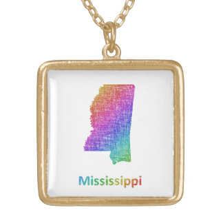 Mississippi Gold Plated Necklace