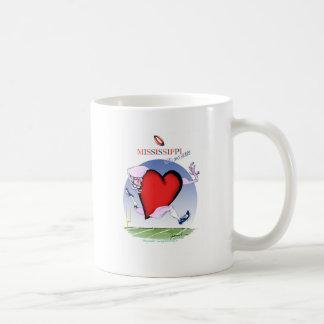 mississippi head heart, tony fernandes coffee mug