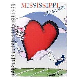 mississippi head heart, tony fernandes notebook