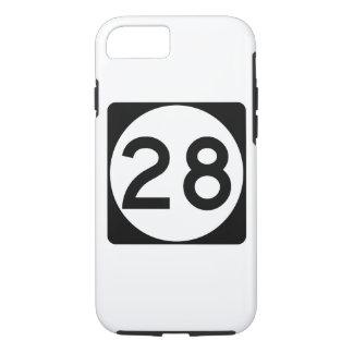 Mississippi Highway 28 iPhone 8/7 Case