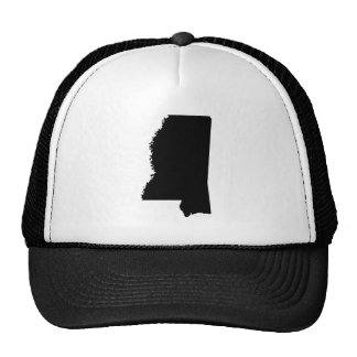 Mississippi in Black and White Hat