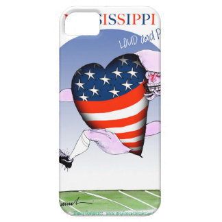 mississippi loud and proud, tony fernandes iPhone 5 case