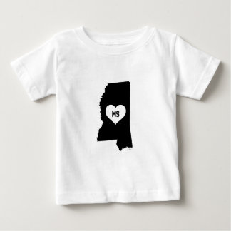 Mississippi Love Baby T-Shirt