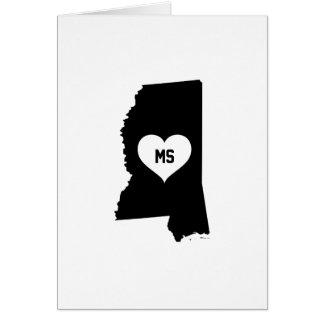 Mississippi Love Card