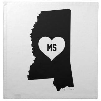 Mississippi Love Napkin