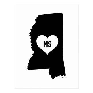 Mississippi Love Postcard