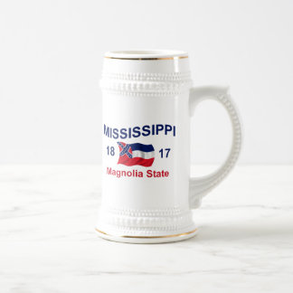 Mississippi Magnolia State Beer Steins