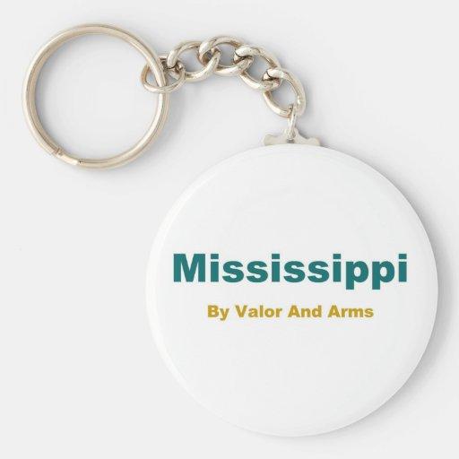 Mississippi-Magnolia State Key Chains