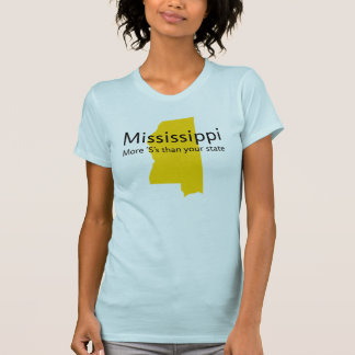 Mississippi : More 'S's that your state T-shirts