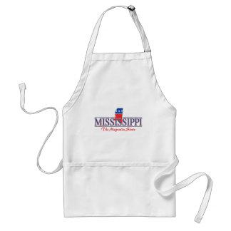 Mississippi Patriotic Apron