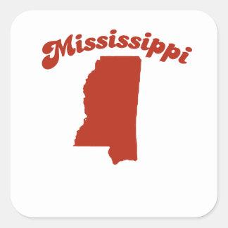 MISSISSIPPI Red State Sticker