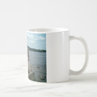Mississippi River at Port of Dubuque Coffee Mug