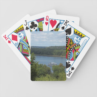 Mississippi River Boat Bicycle Playing Cards