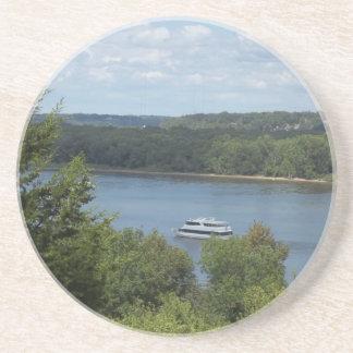 Mississippi River boat Coaster