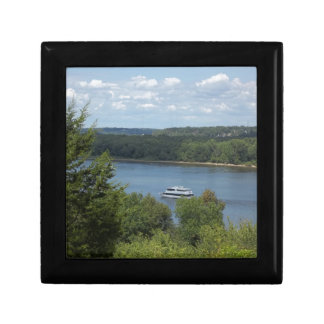 Mississippi River boat Gift Box