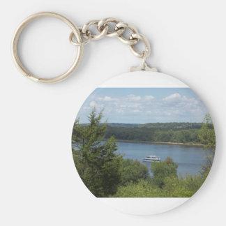 Mississippi River boat Key Ring