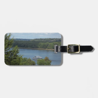 Mississippi River boat Luggage Tag