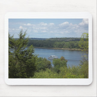 Mississippi River boat Mouse Pad