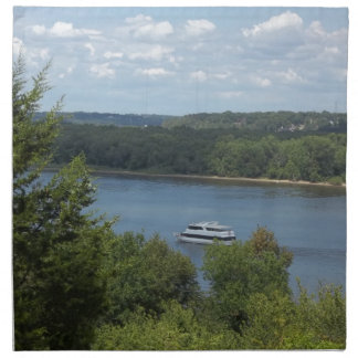 Mississippi River boat Napkin