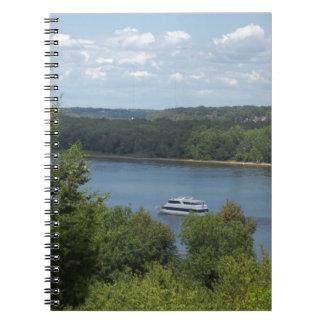 Mississippi River boat Notebooks