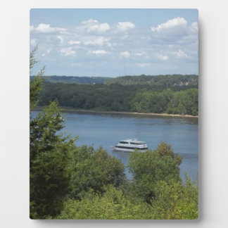Mississippi River boat Photo Plaques