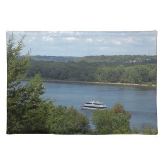 Mississippi River boat Placemat