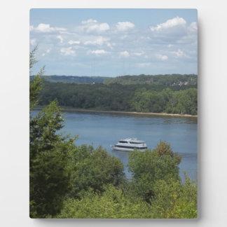 Mississippi River boat Plaque