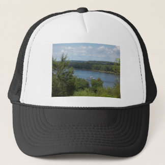 Mississippi River boat Trucker Hat