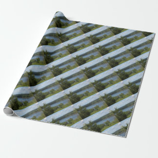 Mississippi River boat Wrapping Paper