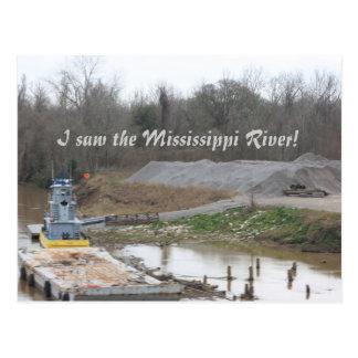 Mississippi River Postcard